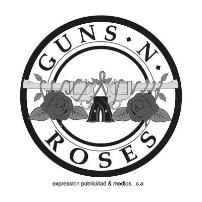 Guns N Roses logo vector