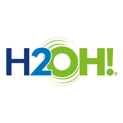 H2OH! Limao logo vector