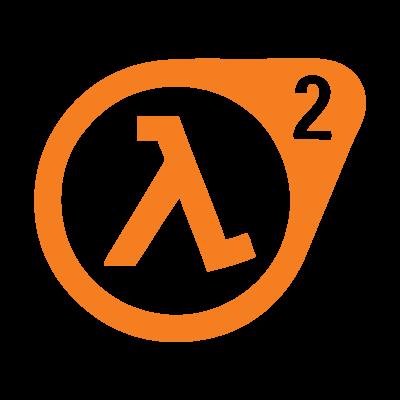 Half-life 2 videogame logo vector