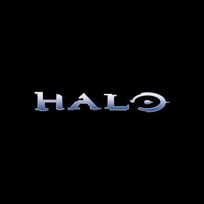 Halo XBox logo vector