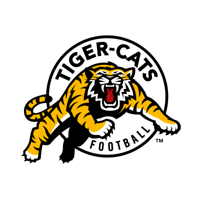 Hamilton Tiger-Cats Football logo vector