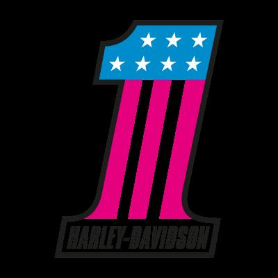 Harley-Davidson 1 logo vector