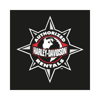 Harley Davidson Authorized Rentals vector logo