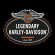 Harley Davidson Legendary logo vector