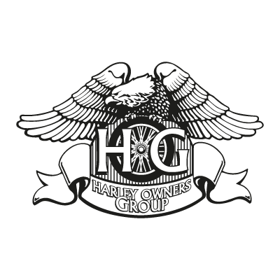 Harley Owners Group logo vector