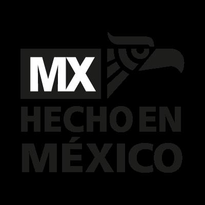 Hecho en mexico de nuevo vector logo free