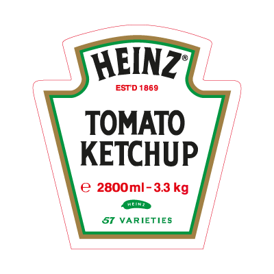 Heinz Tomato Ketchup logo vector