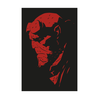 Hellboy Art logo vector