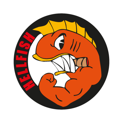 Hellfish logo vector
