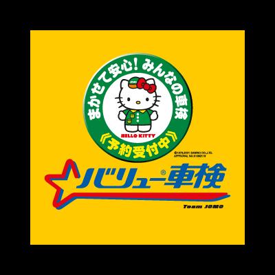 Hello Kitty Team Jomo logo vector