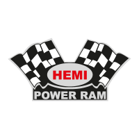 Hemi Power Ram vector logo