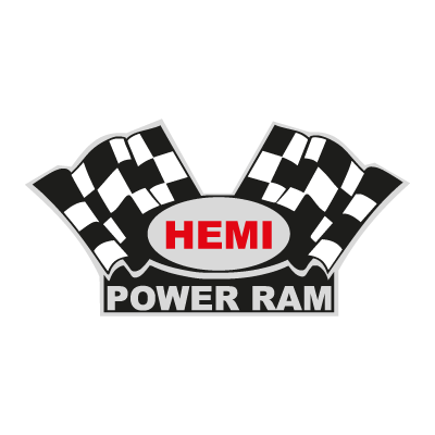 Hemi Power Ram logo vector