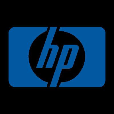 Hewlett Packard old logo vector