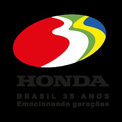 Honda 35 anos logo vector