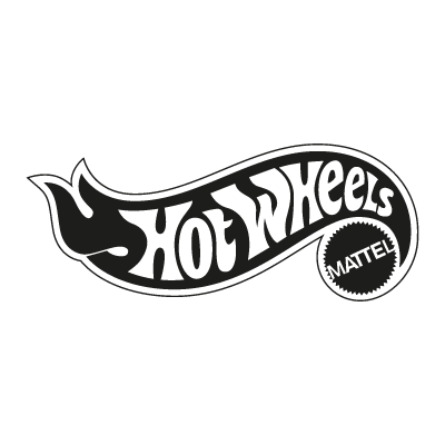 Hot Wheels Mattel logo vector