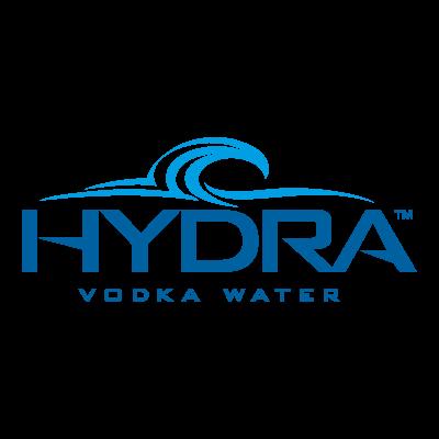 Hydra Vodka Water vector logo