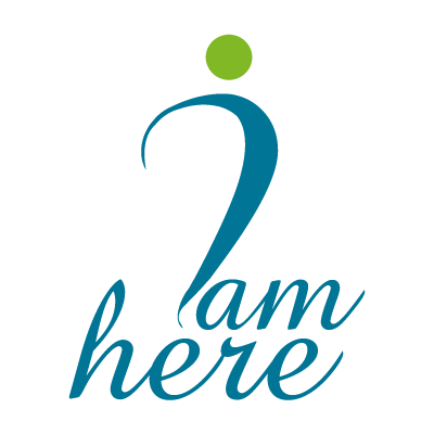 I am Here logo vector