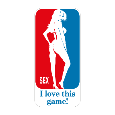 I Love This Game! logo vector