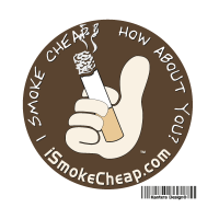 I Smoke Cheap vector logo