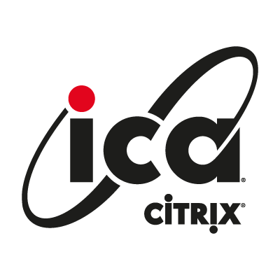 ICA Citrix logo vector