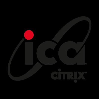 ICA Citrix logo vector