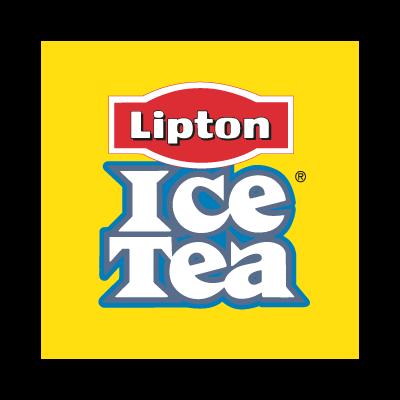 Ice Tea Lipton vector logo