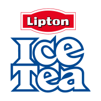 Ice Tea vector logo