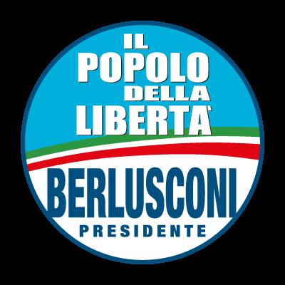 Il popolo della Liberta logo vector