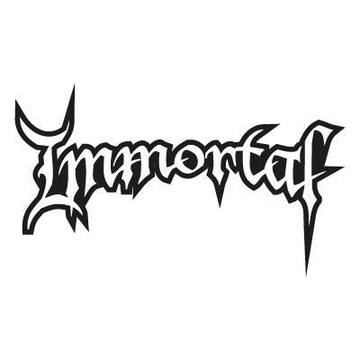 Immortal logo vector
