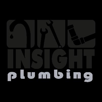 Insight Plumbing logo vector