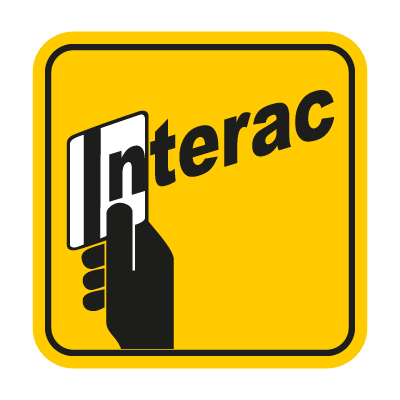 Interac yellow logo vector