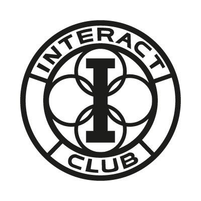 Interact Club logo vector