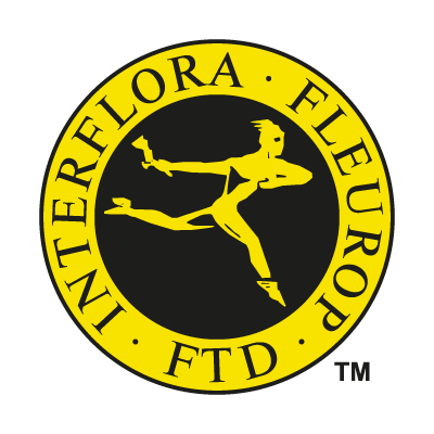 Interflora Fleurop logo vector