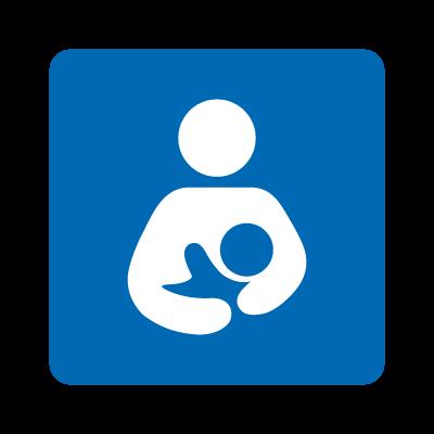 International Breastfeeding Symbol vector logo