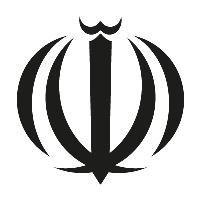 Iran Allah Sign logo vector