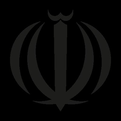 Iran Allah Sign vector logo