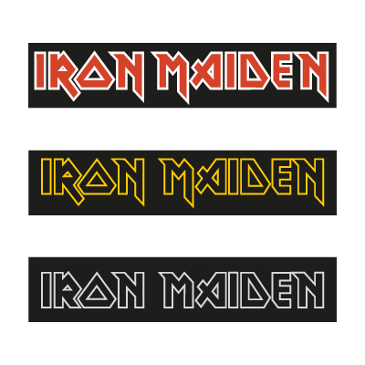 Iron Maiden 3 logo vector