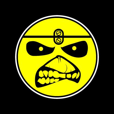 Iron Maiden Eddie Smile logo vector