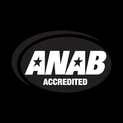 ISO 9001-2000 ANAB logo vector