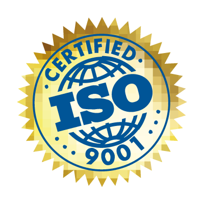 ISO 9001 Certified logo vector