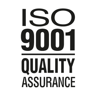 ISO 9001 Quality Assurance logo vector