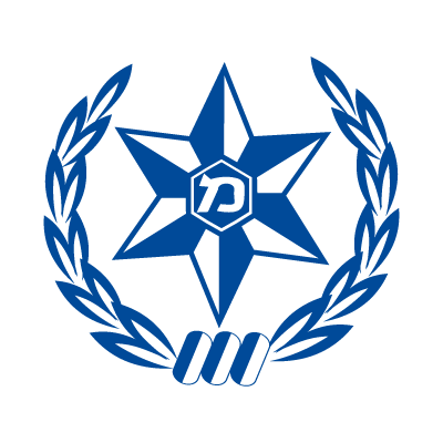 Israel police logo vector