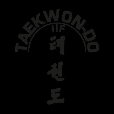 ITF Taekwon logo vector