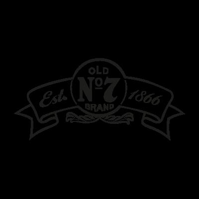Jack Daniel's 1866 logo vector