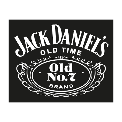 Jack Daniel's old time logo vector