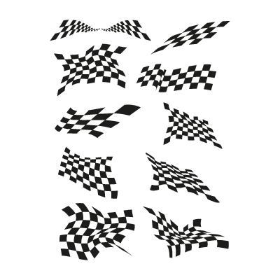 Jacket flags logo vector