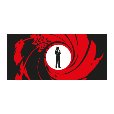 James Bond 007 logo vector