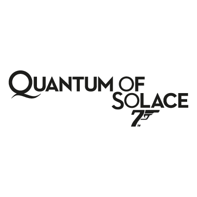 James Bond 007 Quantum of Solace logo vector