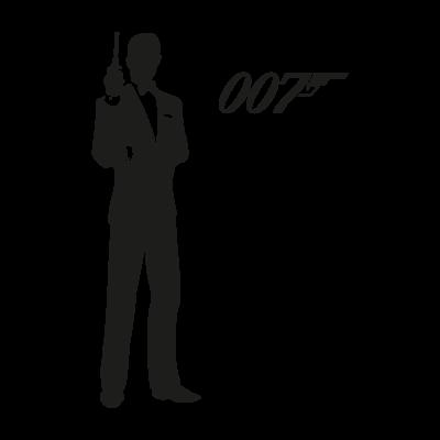 James Bond 007 logo vector