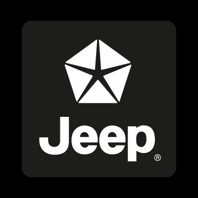 Jeep black logo vector